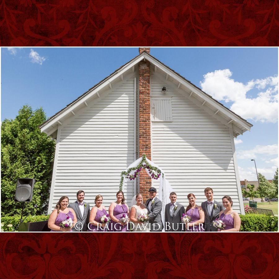 Wedding Party - Michigan-Wedding-Photographer-Novi-CraigDavidButler