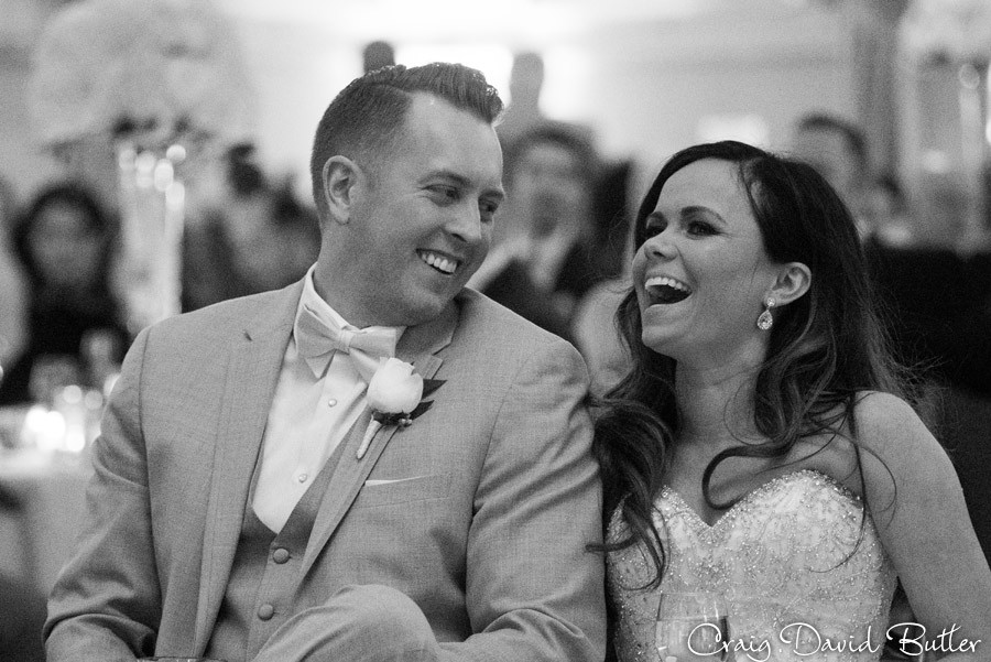 Same Day Edit reaction - St. John's Plymouth Grand Ballroom Wedding, Craig David Butler