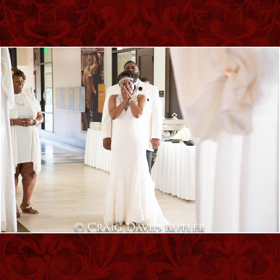 Watching the Same Day Edit - Detroit Wedding Photographer - South Haven Wedding, Heritage Hall Reception, WMU, Kalamazoo MI - CDB Studios