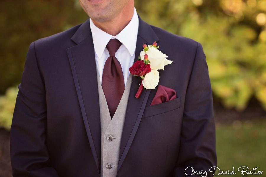Groom Tux Shot Brighton Wedding Photographer - Craig David Butler - Oak Pointe CC