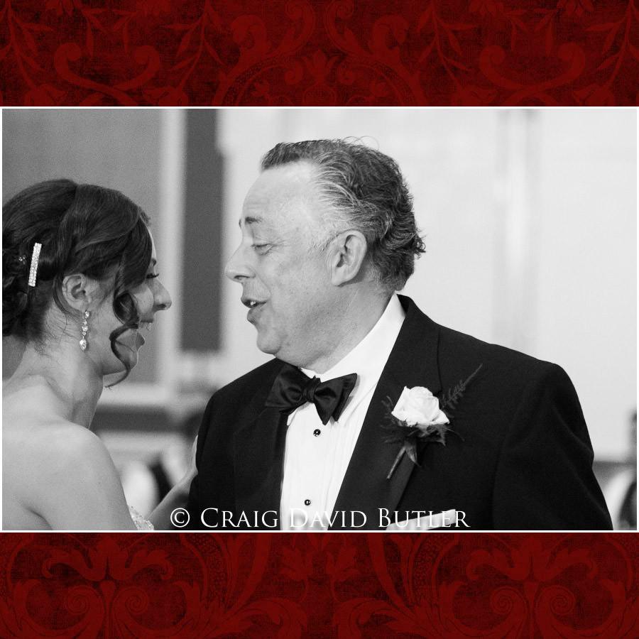 Father daughter dance - Dearborn Inn Wedding Photo- Detroit Michigan Wedding Photographer - CDB Studios
