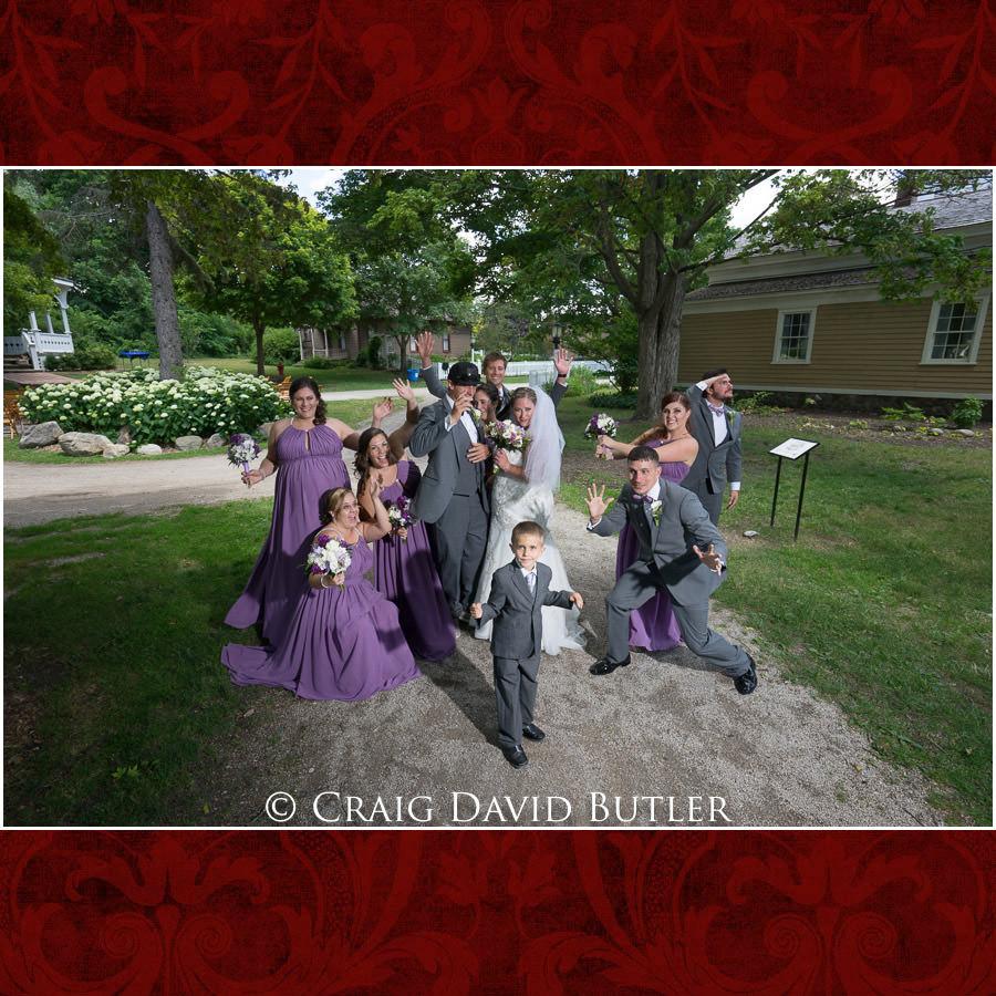 Bridal Party Poses Michigan-Wedding-Photographer-Novi-CraigDavidButler