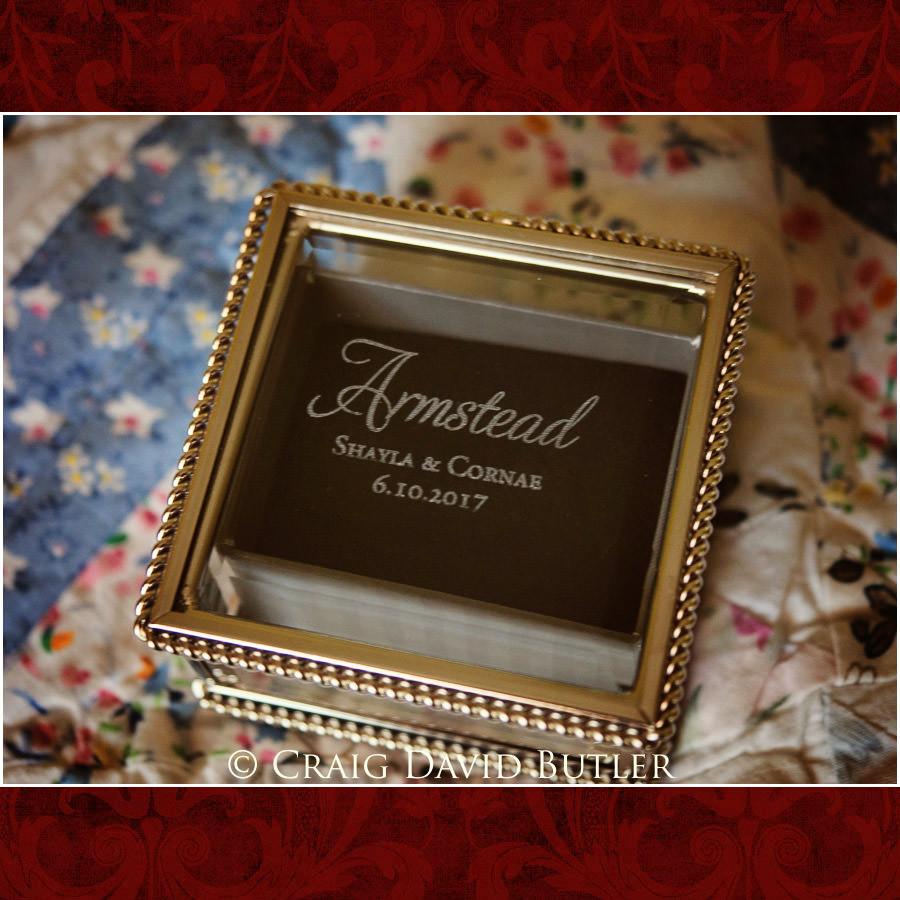 Ring Box Wedding - Detroit Wedding Photographer - South Haven Wedding, Heritage Hall Reception, WMU, Kalamazoo MI - CDB Studios