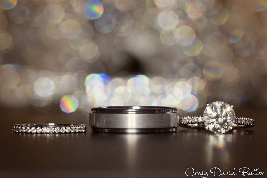 Ring Shot St. John's Plymouth Grand Ballroom Wedding, Craig David Butler