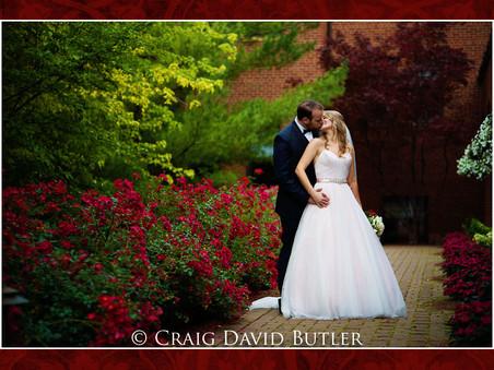 Beautiful Wedding in the Grand Ballroom at St. John's Plymouth - with Andrea & Dan - June 23