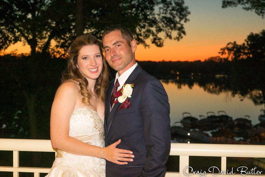 Bride Groom Sunset Brighton Wedding Photographer - Craig David Butler - Oak Pointe CC