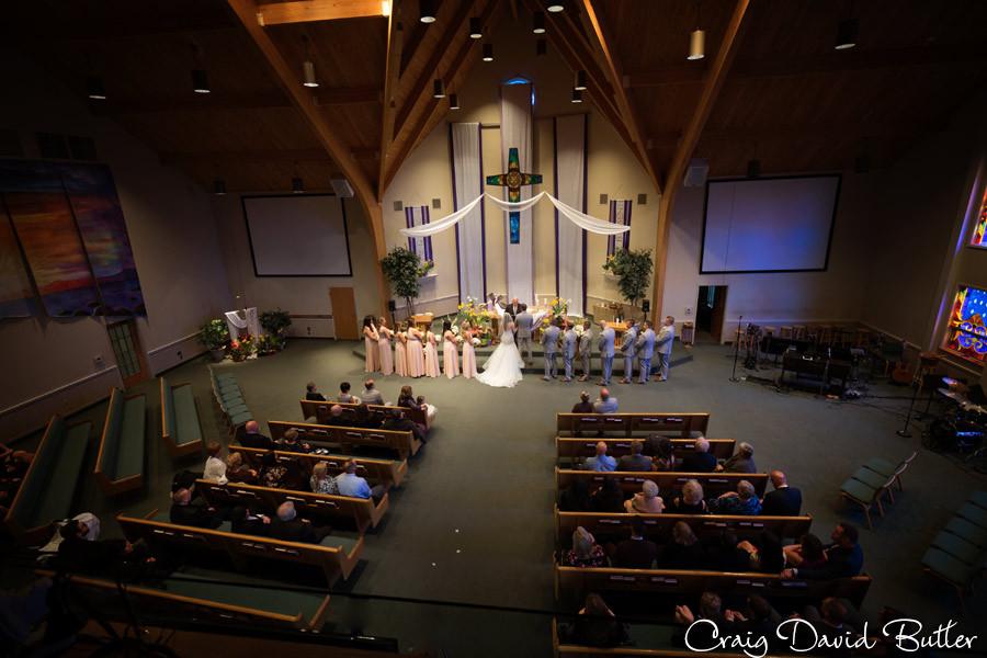 Hope Lutheran St. John's Plymouth Grand Ballroom Wedding, Craig David Butler