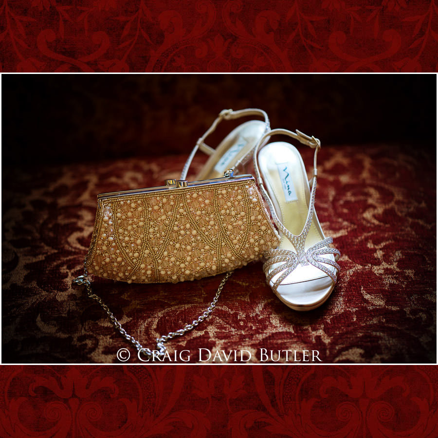 Dearborn Inn Wedding Photo- Detroit Michigan Wedding Photographer - CDB Studios - Shoes