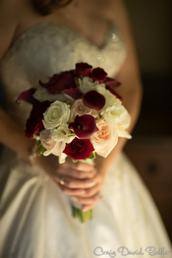 Bridal Bouquet Brighton Wedding Photographer - Craig David Butler - Oak Pointe CC