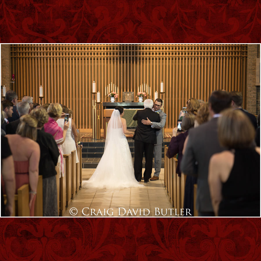 Hand off - Wedding Photos, Michigan League, St. Francis Azizi, Ann Arbor MI, CDBStudios
