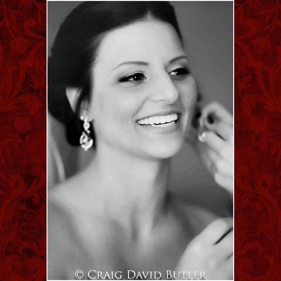 Bride Prep Holiday Inn Express Southgate Michigan Wedding Photography Craig David Butler