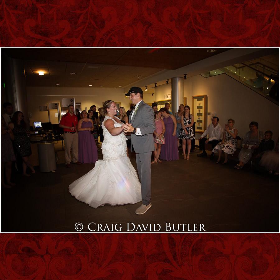 First dance - Michigan-Wedding-Photographer-Novi-CraigDavidButler
