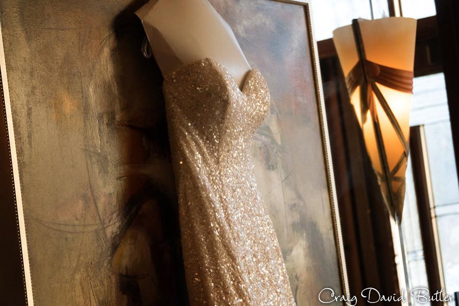 Bride Gown, Winter wedding at the Reserve in Birmingham MI - Craig David Butler