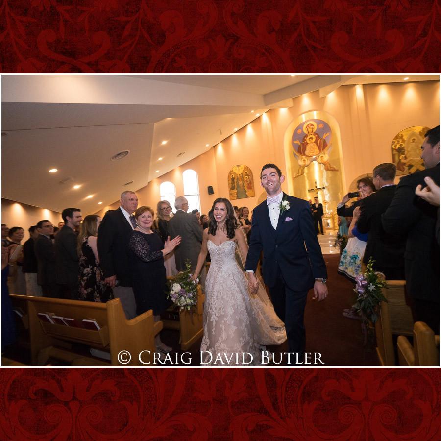 Ceremony Exit - Dearborn Inn Wedding Photo- Detroit Michigan Wedding Photographer - CDB Studios