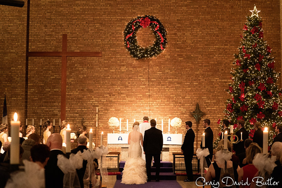 Wedding Ceremony , Winter wedding at the Reserve in Birmingham MI - Craig David Butler