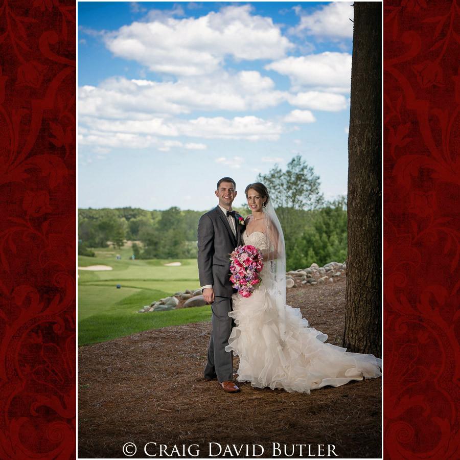 Beautiful wedding photos of bride & groom Clarkston Wedding Photographer - Oakhurst CC, Craig David Butler