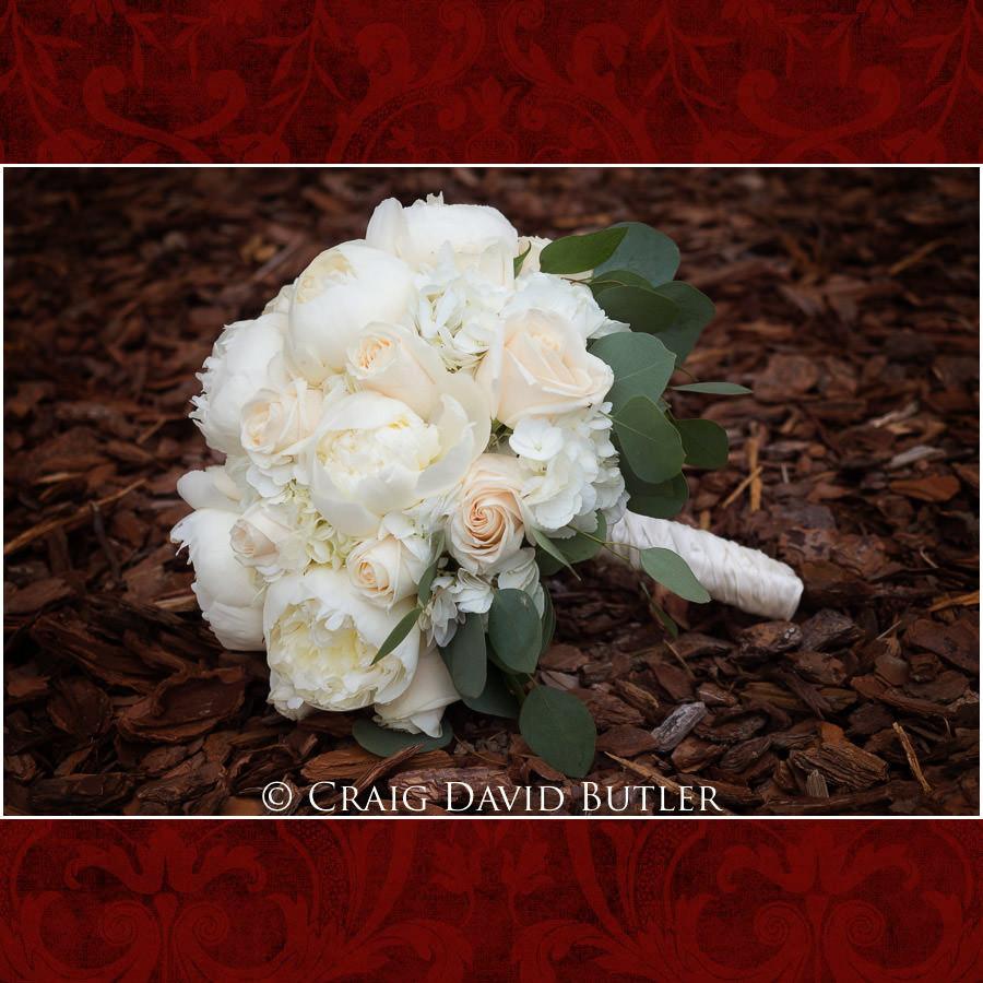 Bridal Bouquet - Wedding Photos, Michigan League, St. Francis Azizi, Ann Arbor MI, CDBStudios