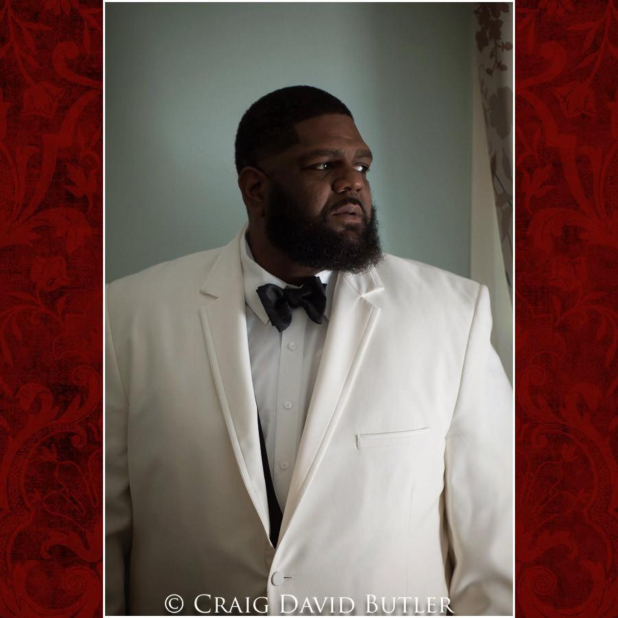 Groom Photo Detroit Wedding Photographer - South Haven Wedding, Heritage Hall Reception, WMU, Kalamazoo MI - CDB Studios