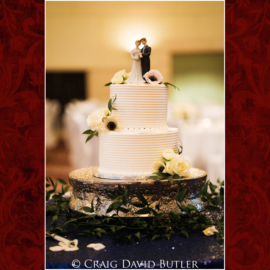 Wedding Cake Wedding Photographer Michigan, St. Johns Plymouth, CDB Studios