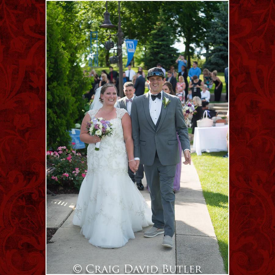 Ceremony Exit Michigan-Wedding-Photographer-Novi-CraigDavidButler