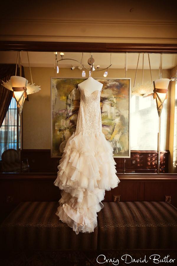 Wedding Gown, Winter wedding at the Reserve in Birmingham MI - Craig David Butler
