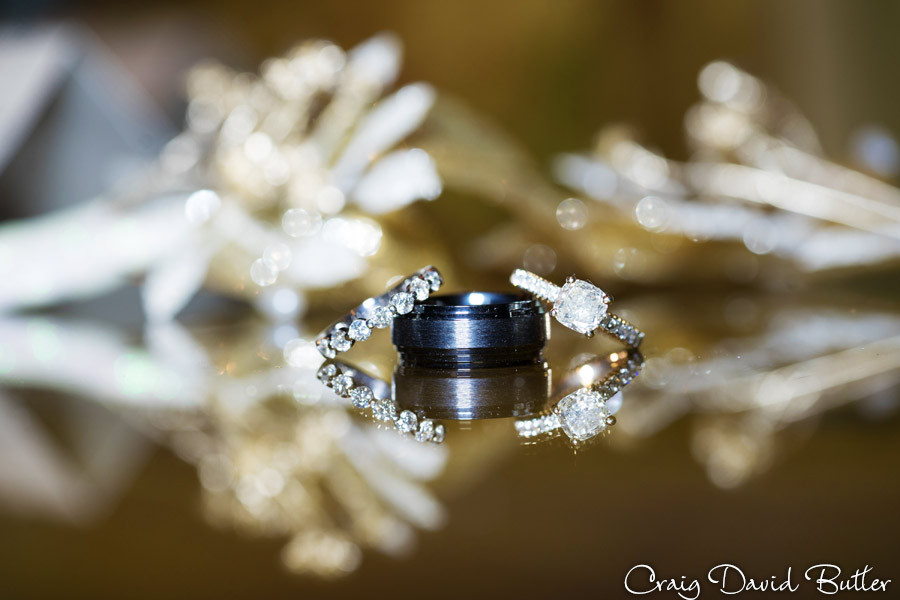 Ring shot, Winter wedding at the Reserve in Birmingham MI - Craig David Butler