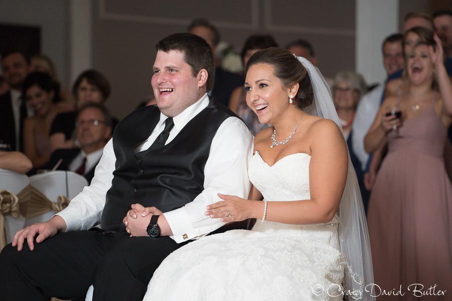 Same Day Edit Reactions - Plymouth Michigan Wedding Photo Meeting House Reception - Craig David Butler