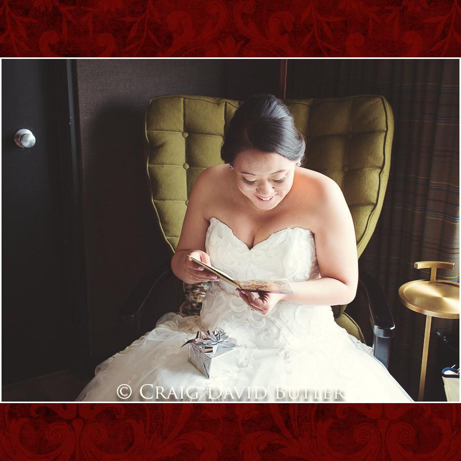Bride Gift - Wedding Photos, Michigan League, St. Francis Azizi, Ann Arbor MI, CDBStudios
