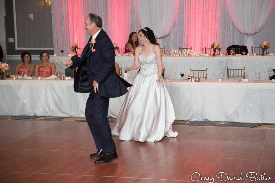 Father Daughter Dance Dearborn Inn Wedding Photographer, Craig David Butler