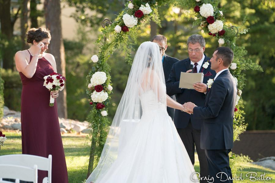Dad Speech Brighton Wedding Photographer - Craig David Butler - Oak Pointe CC