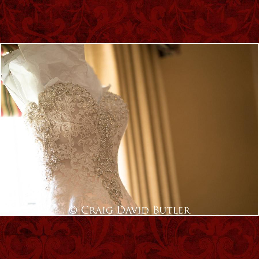 Dearborn Inn Wedding Photo- Detroit Michigan Wedding Photographer - CDB Studios - Wedding Gown