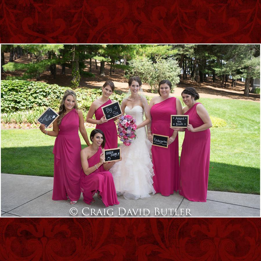 Bride & Bridesmaids photos Clarkston Wedding Photographer - Oakhurst CC, Craig David Butler