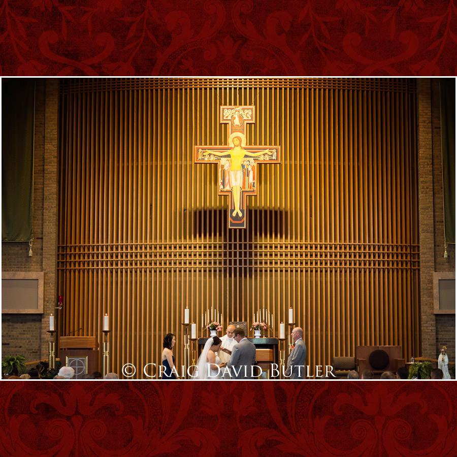 Blessing - Wedding Photos, Michigan League, St. Francis Azizi, Ann Arbor MI, CDBStudios
