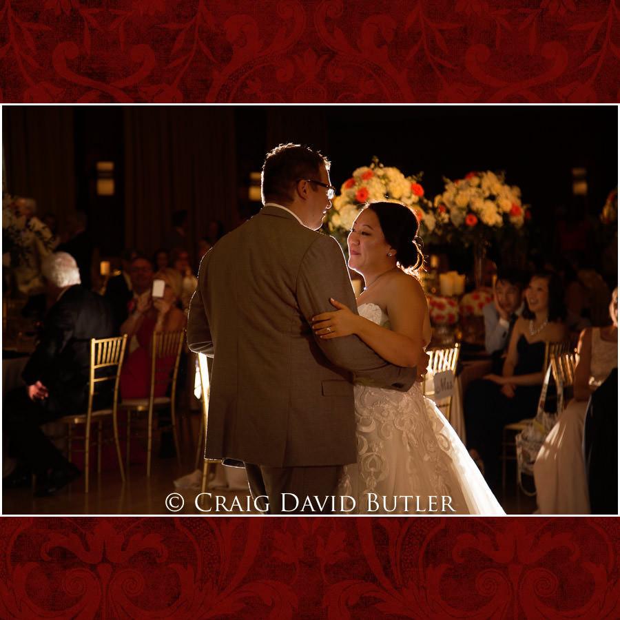 Bride Groom First Dance - Wedding Photos, Michigan League, St. Francis Azizi, Ann Arbor MI, CDBStudios