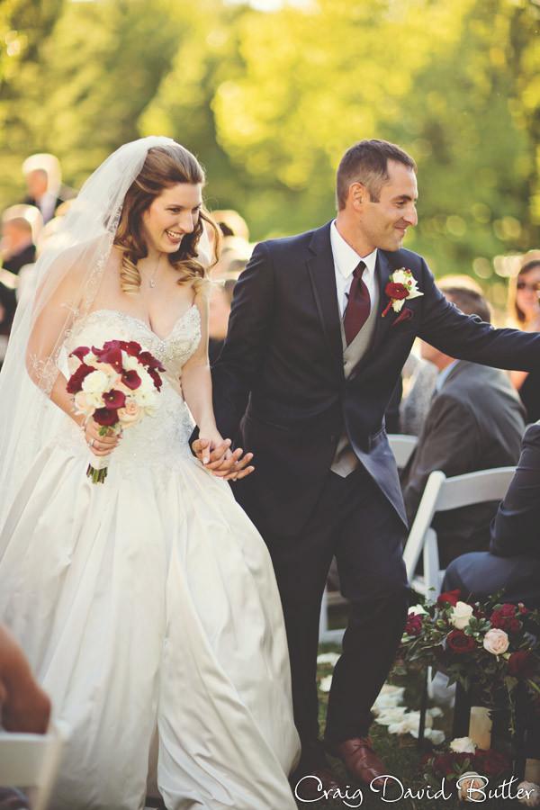 Ceremony Exit Brighton Wedding Photographer - Craig David Butler - Oak Pointe CC