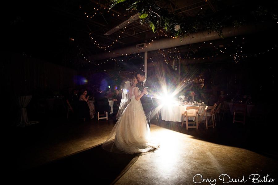 First Dance Rust Belt wedding photos ferndale MI, Craig David Butler