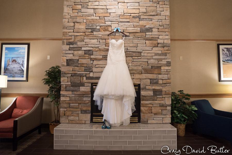 Bride Gown Photo Marquette Wedding Photography Craig David Butler Detroit