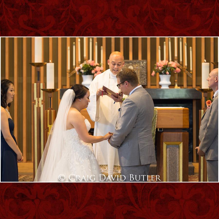 Groom Keeping it together - Wedding Photos, Michigan League, St. Francis Azizi, Ann Arbor MI, CDBStudios