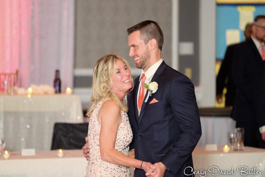 Mother Son Dance Dearborn Inn Wedding Photographer, Craig David Butler