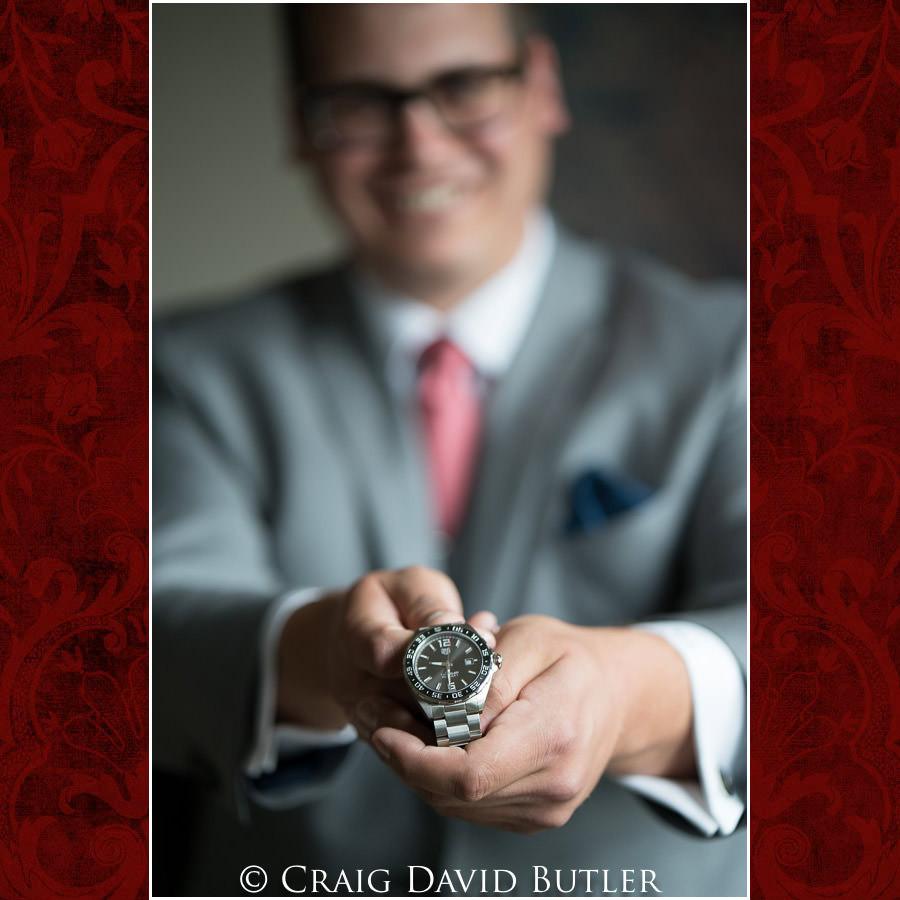Groom Wedding Gift - Wedding Photos, Michigan League, St. Francis Azizi, Ann Arbor MI, CDBStudios