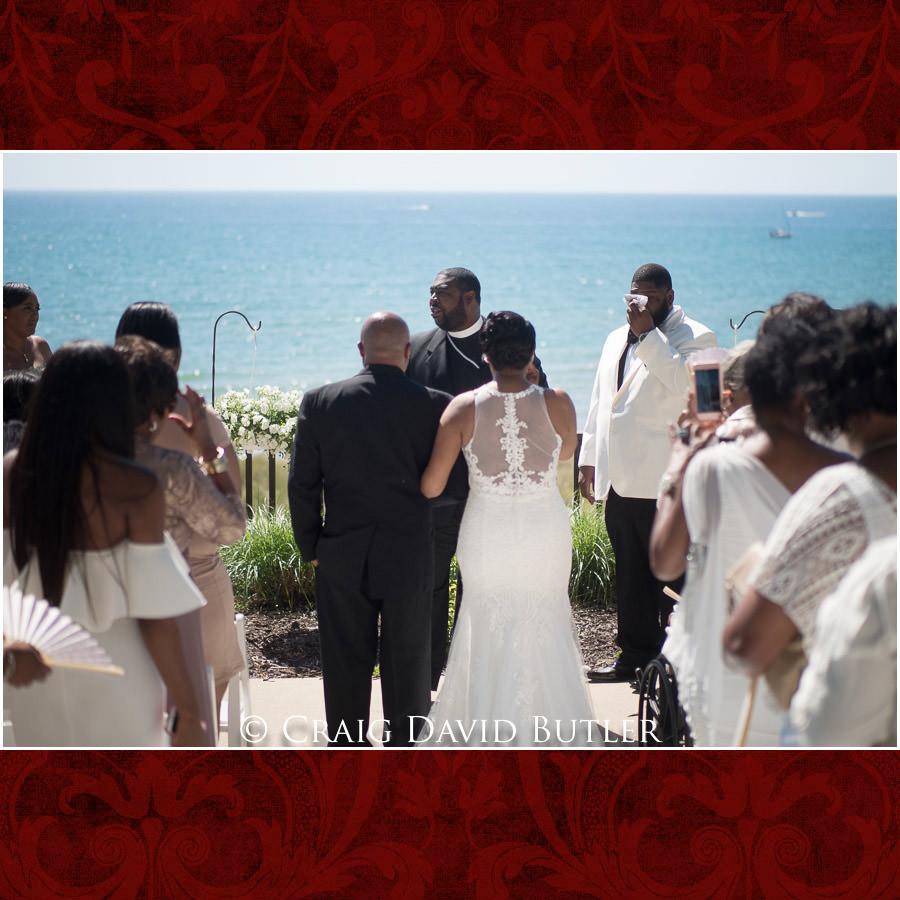 Bride & Dad Detroit Wedding Photographer - South Haven Wedding, Heritage Hall Reception, WMU, Kalamazoo MI - CDB Studios