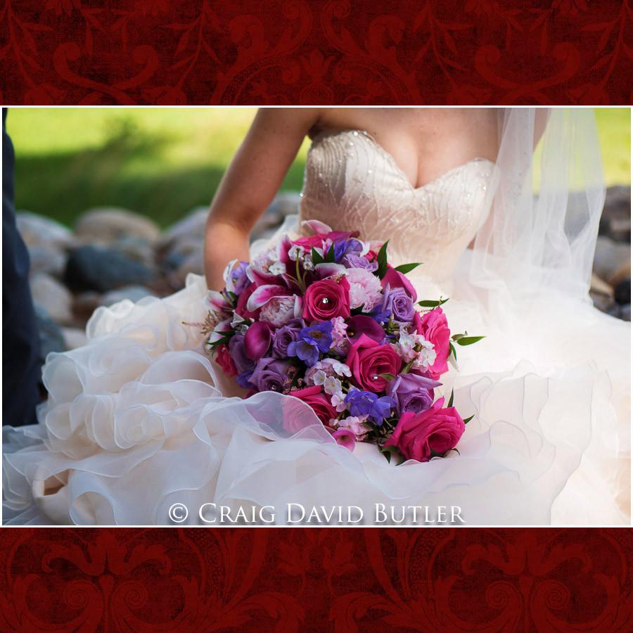 Brides bouquet Clarkston Wedding Photographer - Oakhurst CC, Craig David Butler