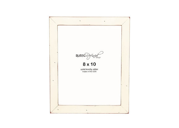 "8x10 1"" Gallery Picture Frame - Off White"