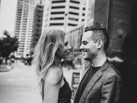 Lera and Gus's E-Session,  Downtown Cincinnati.