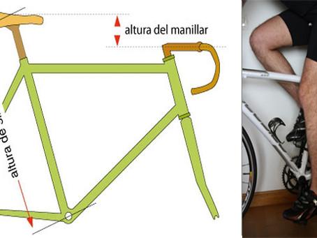 Postura correcta en la bicicleta