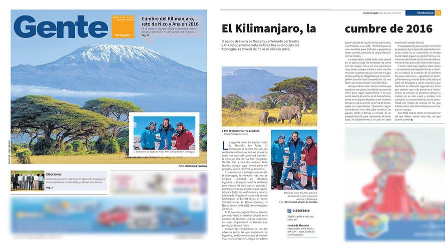 Huella de Montaña 2015.09.25 Gente Envidago