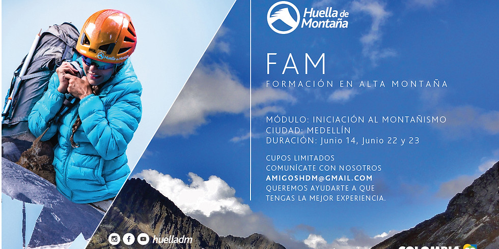Curso FAM Iniciación al Montañismo Módulo Básico