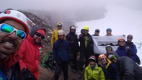 Visita científica al Volcán Nevado Santa Isabel, estudio y monitoreo de sus últimos años de vida