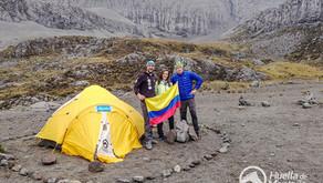 Montañistas regresan al Volcán Nevado del Ruiz