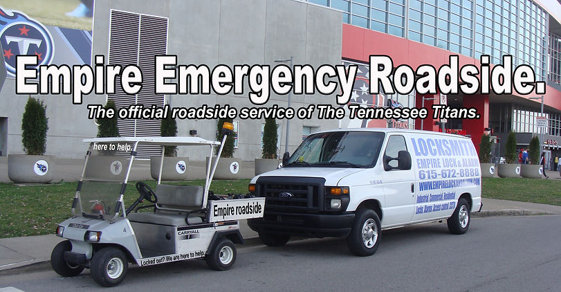Empire roadside assistance the roadside assistance company of the Tennessee Titans